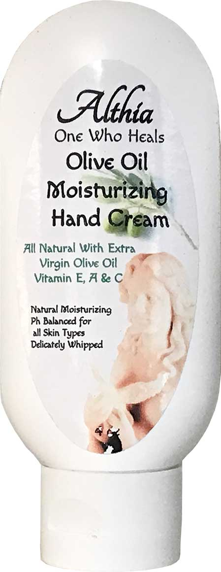 althia olive oil hand cream